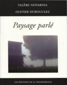 Paysage parlé de Valère Novarina et Olivier Dubouchez. dans analyse de livre arton504-58cb4-235x300