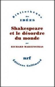 Shakespeare et le désordre du monde dans analyse de livre 9782070138890-191x300