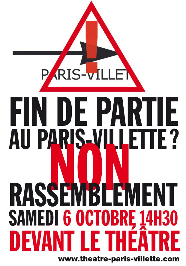 Le Théâtre Paris-Villette fermé ? dans actualites