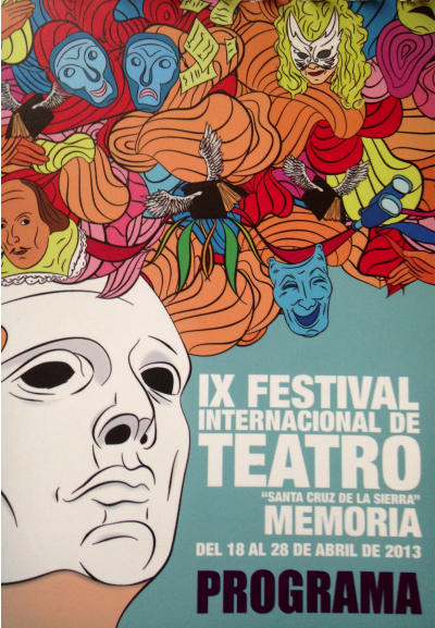 Festival Teatro Memoria à Santa Cruz  photo-bolivie
