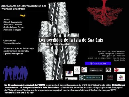 Perdus dans l'Île de San Luis/Station mobile 1.5 postal-estp