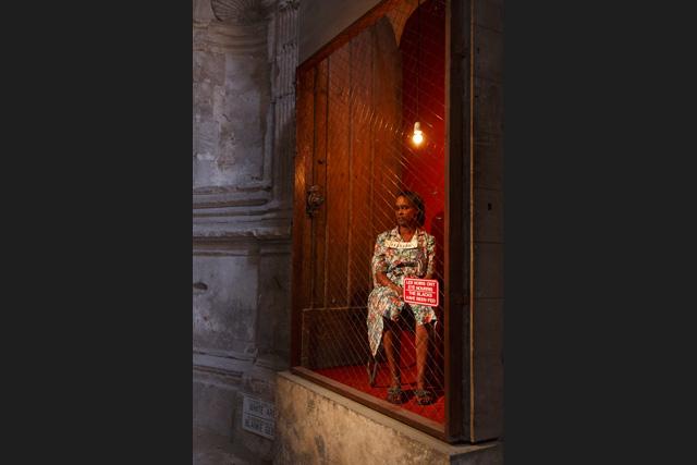 Festival d'Avignon: Exhibit B w_exhibit_b__brett_bailey_c_christophe_raynaud_de_lage__festival_davignon_0244