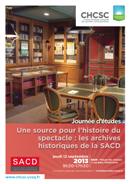 Les trésors de la bibliothèque de la SACD dans actualites affiche-sacd-logo