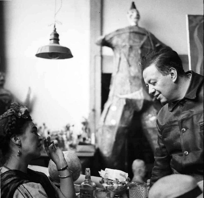 Complicités : Frida et Diego 27.diego-y-frida-compartiendo-la-mesa-en-san-angel
