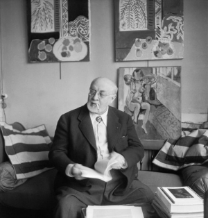 Chatting with Matisse 69419_boris-lipnitzki-studio-lipnitzki-roger-viollet