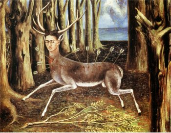 Kalho Frida - The little deer - 1946