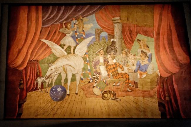 Théâtre du blog » Le rideau de scène de Parade