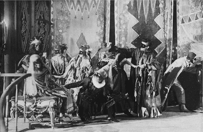 Le Bal Masqué de Mikhaïl Lermontov, mis en scène par Meyerhold