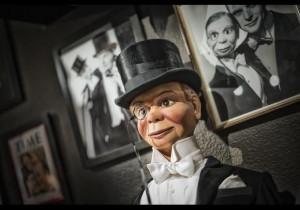 La poupŽe marionnette Charlie McCart hy du célèbre ventriloque et acteur américain Edgar Bergen(Crédit The David Copperfied Collection Museum)