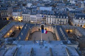 Le Palais de l'Elysée Photo X