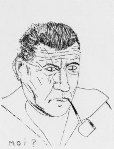 Georges Perros auto-portrait