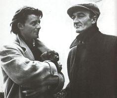 Gérard Philipe et Jean Vilar