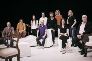 Les acteurs et actrices d'Architectures au festival d'Avignon