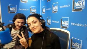 Claudia et Sylvain de Supamoon © Radio France - Sébastien Giraud
