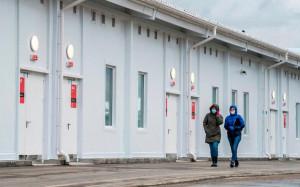 Le centre hospitalier se situe dans le village de Golokhvastovo, à 60 kilomètres au sud-ouest du centre de Moscou. AFP/Andrey Borodulin