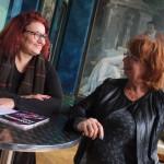 La directrice du Granit et Fabienne Cardot présidente de la Région Photo X