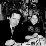 Henri Langlois et Mary Henri Langlois et Mary Meerson Photo X Photo X