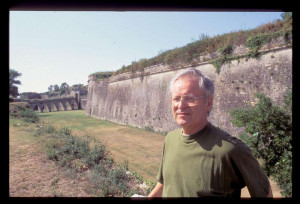 Jacques Albert-Canque  à Blaye en septembre 1991 © x